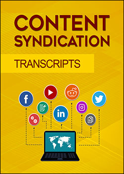 Content Syndication (Transcripts)