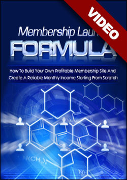 Membership Launch Formula